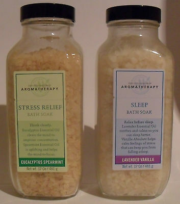Bath and Body Works Aromatherapy Stress Relief Bath Soak 17 oz / 481g New