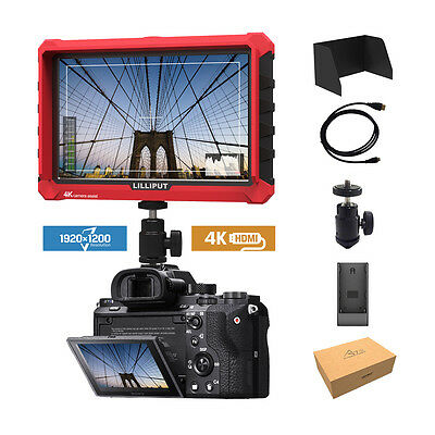 Lilliput A7s 7-inch 1920x1200 DSLR Mirrorless Camera Field Monitor 4K HDMI input