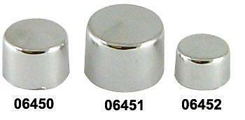 """Bolt Cover Kit Fits All 1/4"""" Bolts Chrome Suit Harley Or Custom"""
