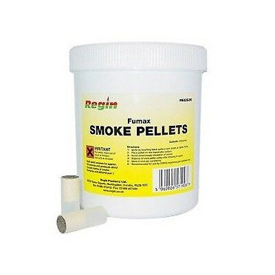 Regs20 Regin Fumax Smoke Pellets Approx 30 Second Burn Time Tub Of 100 Pellets