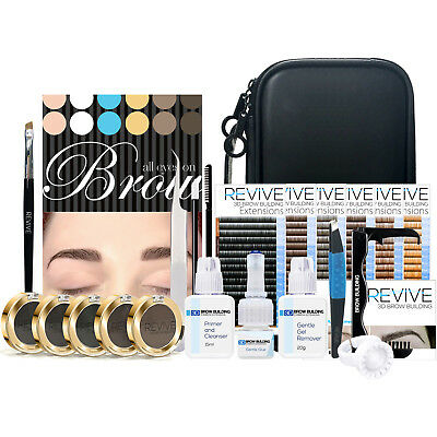 REVIVE Brow Building Eyebrow Extensions Kit Semi Permanent Eyebrow Enhancements