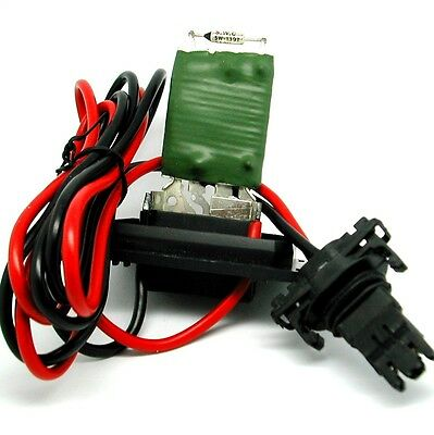 Repair kit Renault Scenic II Heater Blower Fan Resistor PLUS Wiring Loom Harness