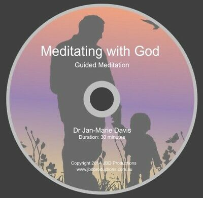 Guided Meditation CD Meditating with God Soothing Music