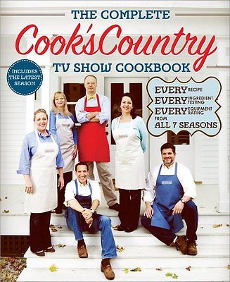 FREE 2 DAY SHIPPING: The Complete Cook's Country TV Show Cookbook: Every Recipe,