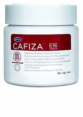 Urnex Cafiza Espresso Machine Cleaning Tablets, 100 Tablets, No Residue, New