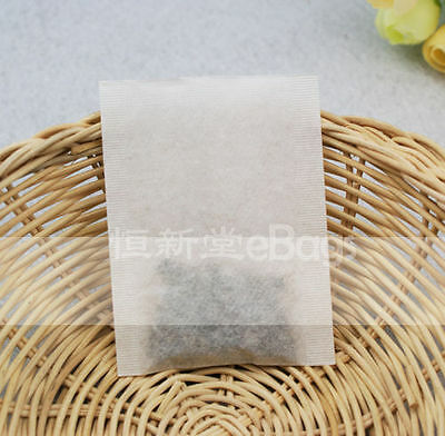 Free Shipping 10pcs Sample Empty Heat Seal Filter Paper Tea Bags Multiple Sizes