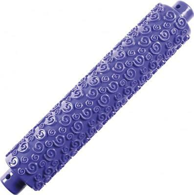 Andrew James Spiral Rolling Pin Fondant Icing Embossing Tool Cake Sugarcraft
