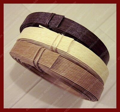 brown kraft paper band flat paper twine rope for craft 15MMx6M 3 color pick 1
