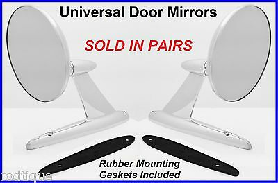 Ford Universal Heavy Duty Exterior Door Mount Rear View Mirrors & Gaskets