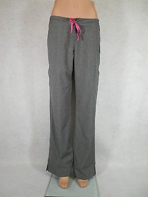 Smitten Hottie Scrub Pants Cargo Pockets. S201002, Heather Grey, *New* Free Ship