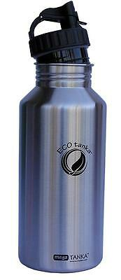 ECOtanka 2L MEGA TANKA Stainless Steel Water Drink Bottle BPA Free Super Hygenic