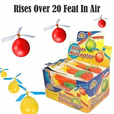 Helicopter Balloon Flying Party Bag Filler Toy Boys Girls Stocking Fillers