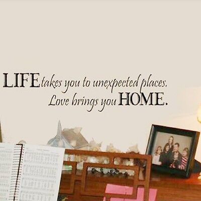 Life Removable DIY Art Wall Decal Decor Room Stickers Vinyl Home Mural Paper