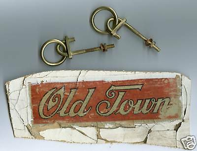 Old Town Canoe Style Painter's ring stem deck Hardware