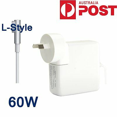 """Power Supply Cord 60W Charger Adapter for Apple MacBook Pro 13"""" A1280 L-tip"""