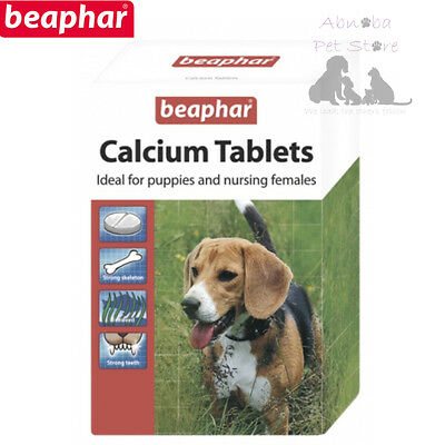 180 Beaphar Calcium Tablets Nursing & Whelping Bitches Young Puppy & Working Dog