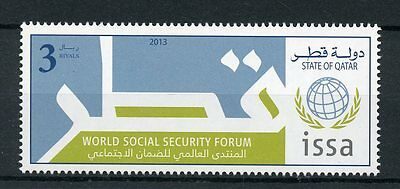 Qatar 2013 MNH World Social Security Forum ISSA 1v Set
