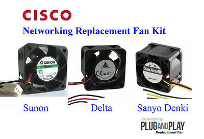 Best for HomeNetworking! Quiet Cisco Fan Kit for 2950SX-48 2950G-48 2950T-48