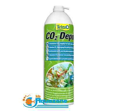 TETRA * CO2 DEPOT 11g // 650ml * CARBON DIOXIDE FERTILISER * PLANTS *NEW