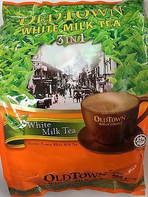Old Town Instant White Milk Tea 3 in 1 White Milk Tea  40G x 12 Sachets