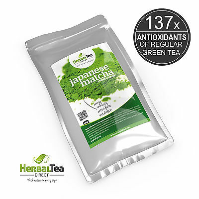Japanese Premium Grade Matcha Green Tea Powder  - Latte - Antioxidant - 100g