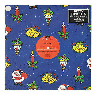 """Dizzy Heights - Christmas Rapping - ** EXCELLENT CONDITION ** 12"""" Single Vinyl"""