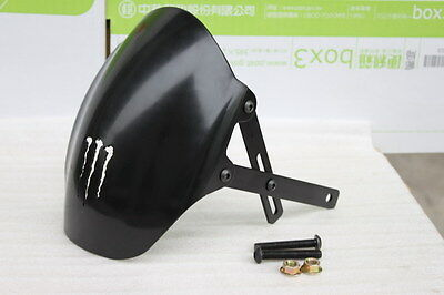 ADJUSTABLE  REAR FENDER FOR GY6 & other 125cc 150cc with Double Shock Absorber