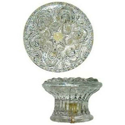 "KG-44 EMPIRE STYLE CLEAR GLASS KNOB (Reproduction)  2-1/8"" DIA."