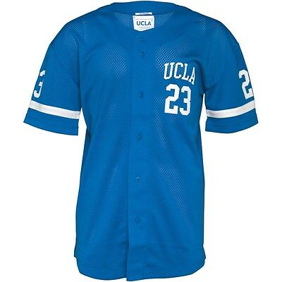 Genuine UCLA Los Angeles Men's Auckland Mesh Baseball Jersey/ Perforated Top