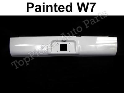 Painted Bright White W7 Roll Pan For 94-01 Dodge Ram 1500 & 94-02 Ram 2500 3500