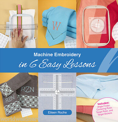 Designs in Machine Embroidery DIME Machine Embroidery in 6 Easy Lessons MEB0010