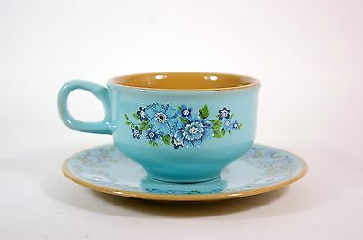Vintage Mid-Century Taylor Smith & Taylor C Design 70 Azura Cup and Saucer