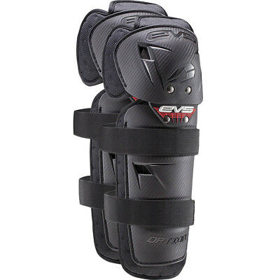 EVS NEW Mx Option Cheap Black Youth Knee Shin Guards Motocross Kids Knee Guards