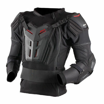 NEW EVS Mx Comp Black Pressure Suit MTB Dirt Bike Adult Motocross Body Armour