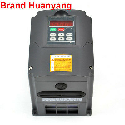 NEW 220V 4KW 5HP VARIABLE FREQUENCY DRIVE INVERTER VFD FREE SHIPPING UPDATED