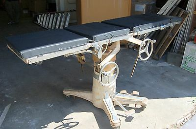 Shampaine and Will Ross Vintage 1950's Surgical Table - VERY RARE