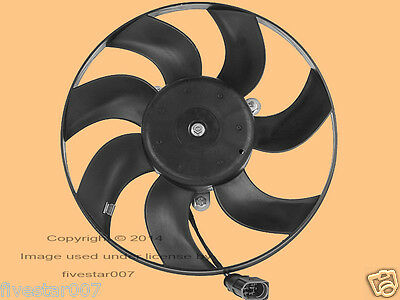 Meyle Auxiliary Radiator Engine Cooling Fan Motor for Volkswagen for Audi w// A//C