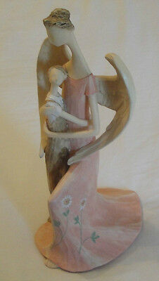 """Eden's Angels """" Kindness """" 2006  #301139 Angel Embracing Young Child"""