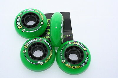 INLINE HOCKEY set of 4 WHEELS - 68MM - GLUON  PRIMETHANE CoPolymer 68 MM