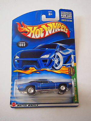 Hot Wheels Treasure Hunt 2002 71 Plymouth GTX - Real Rubber Tires