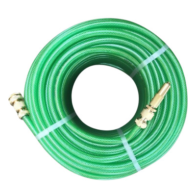 """30M Durable Garden Water Hose 12mm - 1/2"""" Ryset Brass Fittings MADE IN AUSTRALIA"""