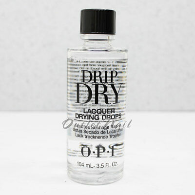 OPI DRIP DRY NAIL LACQUER 104 mL 3.5oz ~ 120mL 4 fl oz Quick Drying ...