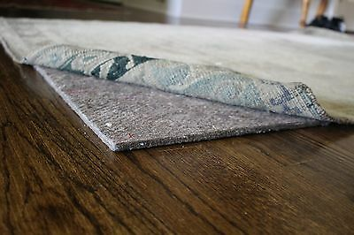 """Eco Comfort Felt Rug Pad - RECTANGLE SIZES - 1/4"""" Thick SAFE for floors"""