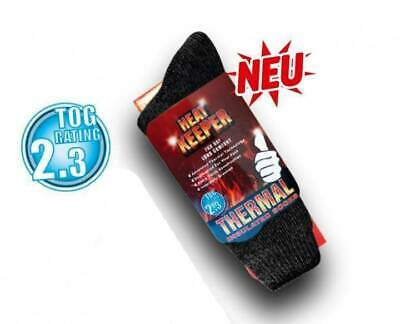 Thermosocken Heat Keeper® Thermal TOG 2,3  ca. 7 x wärmer als normale Socken