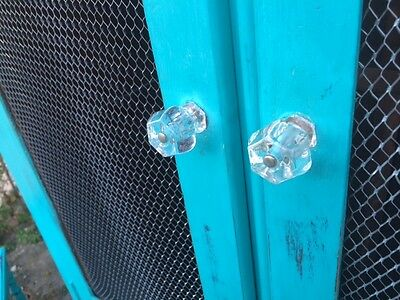 Vintage Wardrobe/Armoire Shabby Chic Turquoise