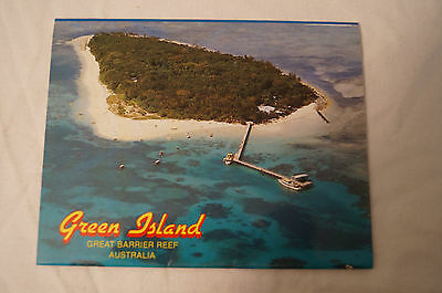 Green Island - Great Barrier Reef - Collectable - 13 Photo Sheet Folding Card.