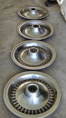 1979 Ford Thunderbird Complete set of original hubcaps