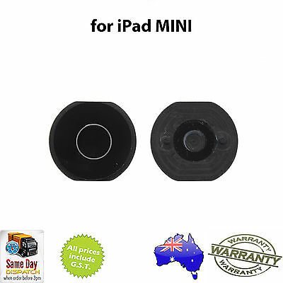 for iPad MINI 1 / 2 / 3 - Home Button BLACK - NEW Replacement Repair Part
