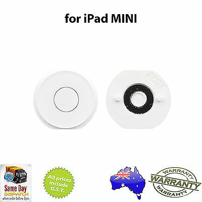 for iPad MINI 1 / 2 / 3 - Home Button WHITE - NEW Replacement Repair Part