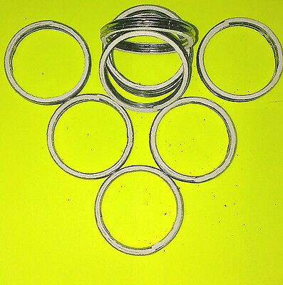 ALLOY AND FIBRE EXHAUST GASKETS SEAL HEADER GASKET RING 47mm OD, 38mm ID     A47